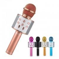 Микрофон-караоке с медиаплеером и колонкой WSTER WS-858