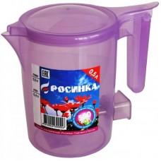 Чайник 0,5 л  РОСИНКА ЭЧ -0,5/0,6 -220 сиреневый прозрачный