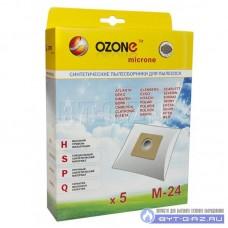 Пылесборник OZONE microne M-24 (синтетика, 5. шт)