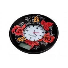 Весы кухонные ENERGY EN-427 (7кг,часы)