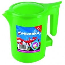 Чайник 0,5 л  РОСИНКА ЭЧ -0,5/0,6 -220 зелёный