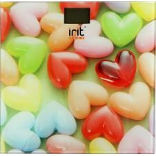 Весы IRIT IT-7259 (180 кг, электрон., стекло)