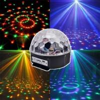 Дискошар LED Crystal Magic Ball Light с ДУ