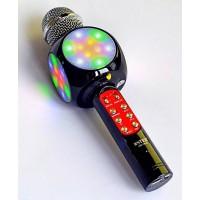 Микрофон-караоке с медиаплеером и колонкой WSTER WS-1816