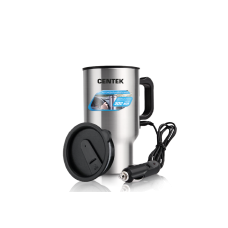 Автомобильная термокружка Centek CT-0090 (35Вт, 500мл, сталь)