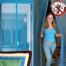Сетка москитная (дверь, 120*210, магниты,пакет)