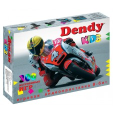 Игровая приставка DENDY Kids+световой пистолет ( 300 игр)