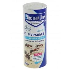 Средство от муравьёв ЧИСТЫЙ ДОМ  (порошок в тубе,350гр) без запаха