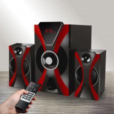 Мультимедийная акустическая система 2.1 GINZZU GM-427 (60Вт,Bluetooth)