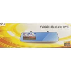 Видеорегистратор-зеркало BLACK BOX DVR-501 (2 камеры,Full HD)