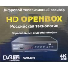 Цифровая приставка HD OPENBOX DVB-009 (WI-FI, 2USB, метал корпус,инструкция)