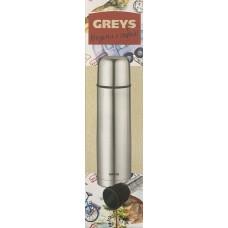 Термос Greys QE-035 ( 0,75л, узк. горло, с ситечком)