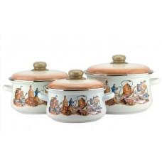 Набор посуды ЭМАЛЬ 7-319/6М (6предметов)