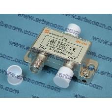 Делитель ТВ сигнала ARBACOM APA-219 (на 2ТВ)