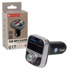 Модулятор G17 (12V,handsfree,FM,Bluetooth,зарядка телефона)