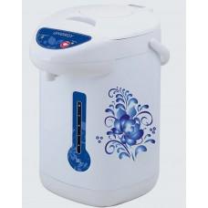 Термопот ENERGY TP-602 (3,8л, белый с голубым рисунком)