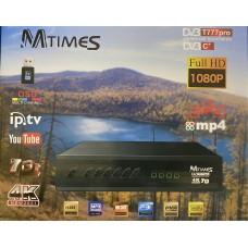 Цифровая приставка MTimes DVB T777pro  (DVB-T2/C, WI-FI, USB, метал корпус,инструкция)