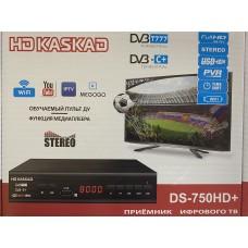 Цифровая приставка HD Kaskad DVB T777 (DVB-T2/C, WI-FI, USB, метал корпус,инструкция)