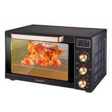 Жарочный шкаф KRAFT KF-MO 3506KGLB (чёрн/золото,35л,дисплей, с КОНВЕКЦИЕЙ)