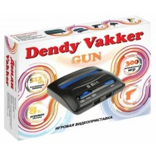Игровая приставка DENDY Vakker +световой пистолет(300 игр)