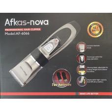 Машинка д/стрижки AFKAS-NOVA AF-6066 (проф,2аккум)