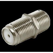 Коннектор 10023  RG6 F-connector F/F бочка (уп.50 шт)
