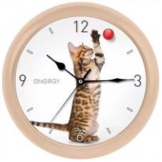 Часы  ENERGY EC-113 кот