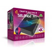 СМАРТ ТВ-приставка SELENGA R1 (4K, Android 7.1.2, 1Gb/8Gb)