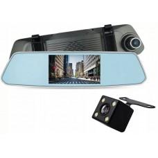 "Видеорегистратор-зеркало CM-T50L  (2 камеры,FULL HD,Touch Screen,экран 5"")"