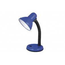 Лампа настольная ULTRAFLASH UF-301P C06 синяя