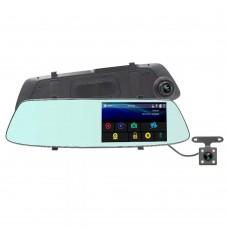 "Видеорегистратор-зеркало CM-53L (2 камеры,FULL HD,Touch Screen,экран 5,3"")"