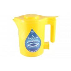Чайник 0,5л КАПЕЛЬКА (600Вт) жёлтый