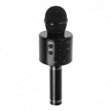 Микрофон-караоке с медиаплеером и колонкой SUPERSTAR MA3001чёрный