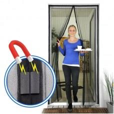 Сетка москитная (дверь, 90*210, магниты,пакет)