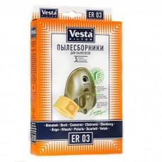 Пылесборник VESTA FILTER ER 03 (5шт,бумажные)