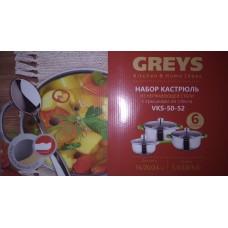 Набор посуды GREYS VKS-50-52 (6предметов )