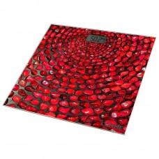 Весы LUMME LU-1329 красный коралл  (180 кг, электрон., стекло)
