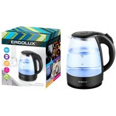 Чайник ERGOLUX ELX-KG03-C02 (1,8л, стекло)