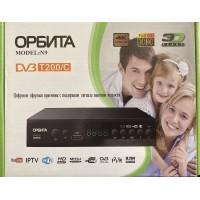 Цифровая приставка  ОРБИТА N9  (DVB-T200/C,Wi-Fi, шнур, ДУ,инструкция, мет.корпус)