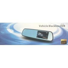 Видеорегистратор-зеркало LS-106L  (2 камеры,Full HD)