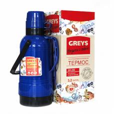 Термос GREYS SM-206 (3,2л,стекло)