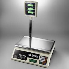 Весы торговые DELTA TBH-35A (35кг)