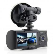 Видеорегистратор R300 (2камеры, одновременная запись с них)