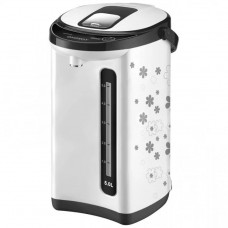 Термопот ENERGY TP-617  (5,0л,белый-чёрный с цветами)
