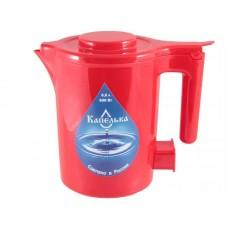 Чайник 0,5л КАПЕЛЬКА (600Вт) красный