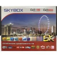 Цифровая приставка SKYBOX T777 (SB-8800)  (DVB-T2/C, WI-FI,USB, метал корпус,инструкция)