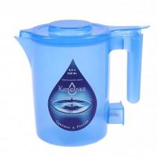 Чайник 0,5л КАПЕЛЬКА (600Вт) синий