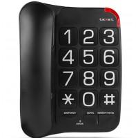 Телефон TEXET TX-201 (Бабушкофон) чёрный