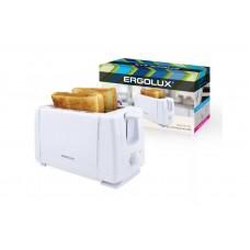 Тостер ERGOLUX ELX-ET01-C01 (белый)
