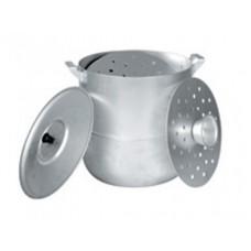 Манты/казан алюминевый Демидово МТ040 (6 л, диаметр 26см)